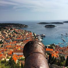 Why study for finals when you can day dream about your adventures in Croatia? \\ #hvar #hvarisland #croatia #croatian #hrvatska #fortica #spanishfort #cannon #adventure #port #adriatic #studyabroad #travel #explore #discover #niustudyabroad #isaabroad #wherewillyougo #theworldawaits #finalsweek #daydreaming #islandlife #gameofthrones by corey.meredith