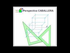 Perspectiva isométrica y caballera - YouTube