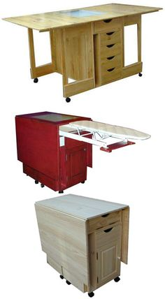 Sewing Cabinet Cutting Table Oh lordy I WANT this too!!!!