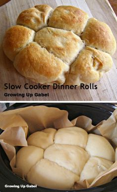 Let your slow cooker do the work instead of the oven to make these slow cooker dinner rolls