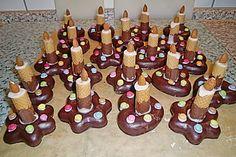 Lebkuchen - Kerze 6