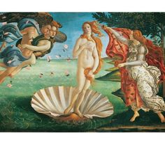 "Botticelli ""Nascita di Venere"" - 1000 pcs - Museum Collection - Clementoni"
