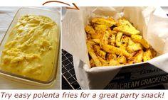 "Thermomix Polenta makes yummy ""Polenta Fries"""