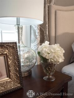 A Tranquil Master Bedroom Makeover @ A Well Dressed Home