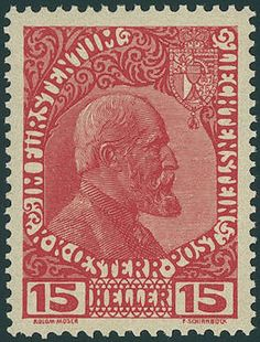 "Liechtenstein, Michel IA, 15 H. Prince Johann II. 1917, the scarce not issued stamp, fresh colors and very well perforated, in perfect condition mint never hinged, without any signs. A Liechtenstein rarity, the in almost all collections is absent! Certificate with photograph ""mint never hinged perfect"" Marxer."