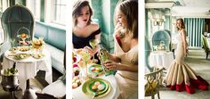 Brunching in Ballgowns | The Glamourai