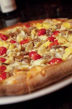 Pizza at Antico Forno, Boston's North End