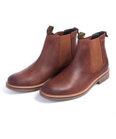 Men's Barbour Farsley Chelsea Boots - Black