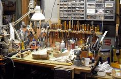 luthier's workstation