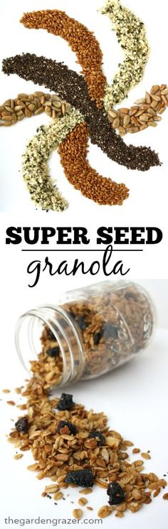 ... Quick and easy granola packed with protein, fiber, and omega-3! (vegan
