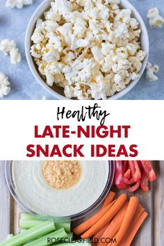 12+ healthy late-night snack ideas. Quick, low-calorie snacks to fill you up before heading to bed. #healthysnacks #latenightsnacks #bedtimesnackideas Healthy Midnight Snacks, Quick Healthy Snacks, Image Healthy Food, Healthy Eating Recipes, Healthy Foods To Eat, Nutritious Meals, Clean Eating Snacks, Snack Recipes, Whole 30 Snacks
