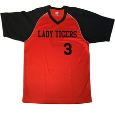 Customize these stylish 2 color v-neck major team basketball jerseys with contrast shoulder piping. Your Team name, player name and numbers in a variety of colors and font choices. Basketball Jersey, Team Names, Branded T Shirts, Fashion Brands, Choices, Numbers, Contrast, V Neck, Lettering