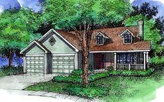 House Plan chp-40423 at COOLhouseplans.com