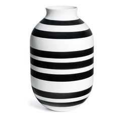 Omaggio Vase Svart XL, Kähler
