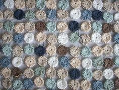#Crochet Yoyos: free pattern