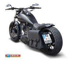 Details zu Satteltasche 28L Harley Davidson Night Train Fat Boy ...