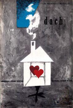 "Jerzy Treutler, ""DACH""  (De Sica), 1957"