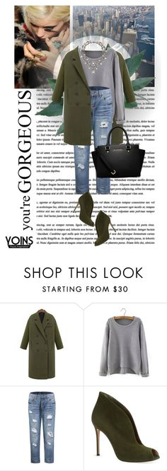 """""""You are gorgeous"""" by sabinakopic ❤ liked on Polyvore featuring Chanel, Gianvito Rossi, MICHAEL Michael Kors and yoins"""