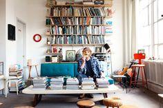 Greg Wooten - Design Purveyor   in his apartment - New York City - Jan 24, 2012