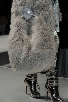 Blumarine...Will Carry this Luxurious Bag, Fur  Sure!!