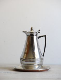 vintage deco coffee carafe by wretchedshekels on Etsy,