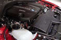 TwinPower Turbo Engine of New 2012 BMW 3 Series F30, Sport Line