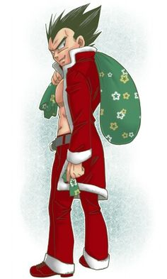 Christmas Vegeta