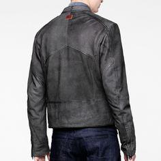 Aero leather jacket-Men-Jackets-G-Star