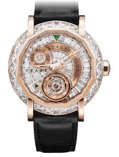 MasterGraff Tourbillon GMT 47mm | Graff Diamonds