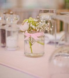 Assortment of decorative Flower or Sweet Jars