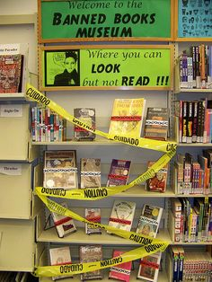 Banned Books Week 2008 by Pima County Public Library, via Flickr