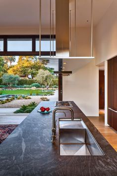 Neumann Mendro Andrulaitis Architects created a California estate that is…