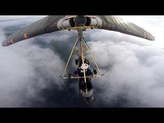 Утренний полет к облакам - YouTube