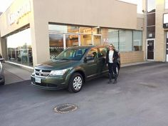Jessica Coulter looking very excited about driving away in her new Dodge Journey!!Congratulations!!  www.kingstondodge.com