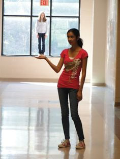 Art of Apex High School: Forced Perspective : Photography