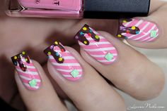 Candy Nails nail art by Lizana Nails