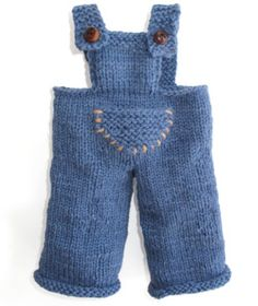 Overalls pattern for doll