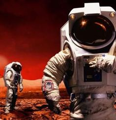 Mars Colonists Could Build An Independent Red Planet