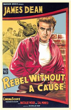 Rebel Without A Cause (1955) starring James Dean, Natalie Wood  Sal Mineo