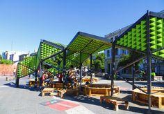 Tetralux: generando nuevos espacios públicos en base al reciclaje de cajas de leche