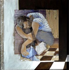 Reading and Art: Françoise Amadieu Cardboard Relief, Cardboard Painting, Cut Out Art, Ap Studio Art, Charcoal Art, Reading Art, Collage Art Mixed Media, Drawing Projects, Art Graphique