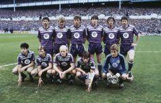 1984 - S.C. Anderlecht (football) GOALKEEPERS: Munaron - Vekeman DEFENDERS: Andersen - Degreef - De Groote - Grün - Olsen - Peruzovic MIDFIELDERS: Arnesen - Frimann - Gudjohnsen - Hofkens - Scifo - Vandereycken - Vercauteren FORWARDS: Brylle - Czerniatynski - Goossens - Vandenbergh TRAINER: Van Himst