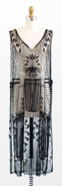 Beaded tabard dress | Etsy| 1920s