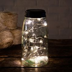 Put these solar lights on a tabletop or around a dance floor.