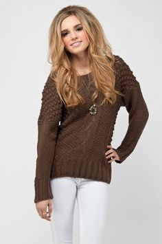 Love this sweater! And it's only $26!