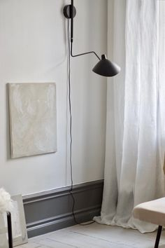 Skira linen curtains with trailers on the ground surface Interior Design Instagram, Best Home Interior Design, Vintage Interior Design, Luxury Homes Interior, Room Interior, Custom Made Curtains, Linen Curtains, Scandinavian Home, Modern House Design