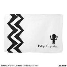 Baker Art-Deco Custom  Towels