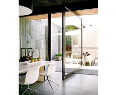 pivot door detail architect - Google Search