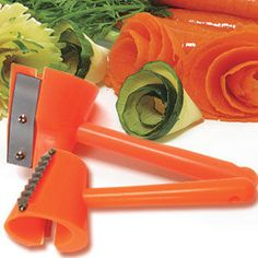 SLT kitchen has one of these and it is fun to play with!!  Make veggie roses with the carrot curler.