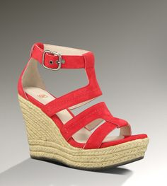 i would like to have these please...Ugg Lauri Strappy Gladiator Wedge Sandals
